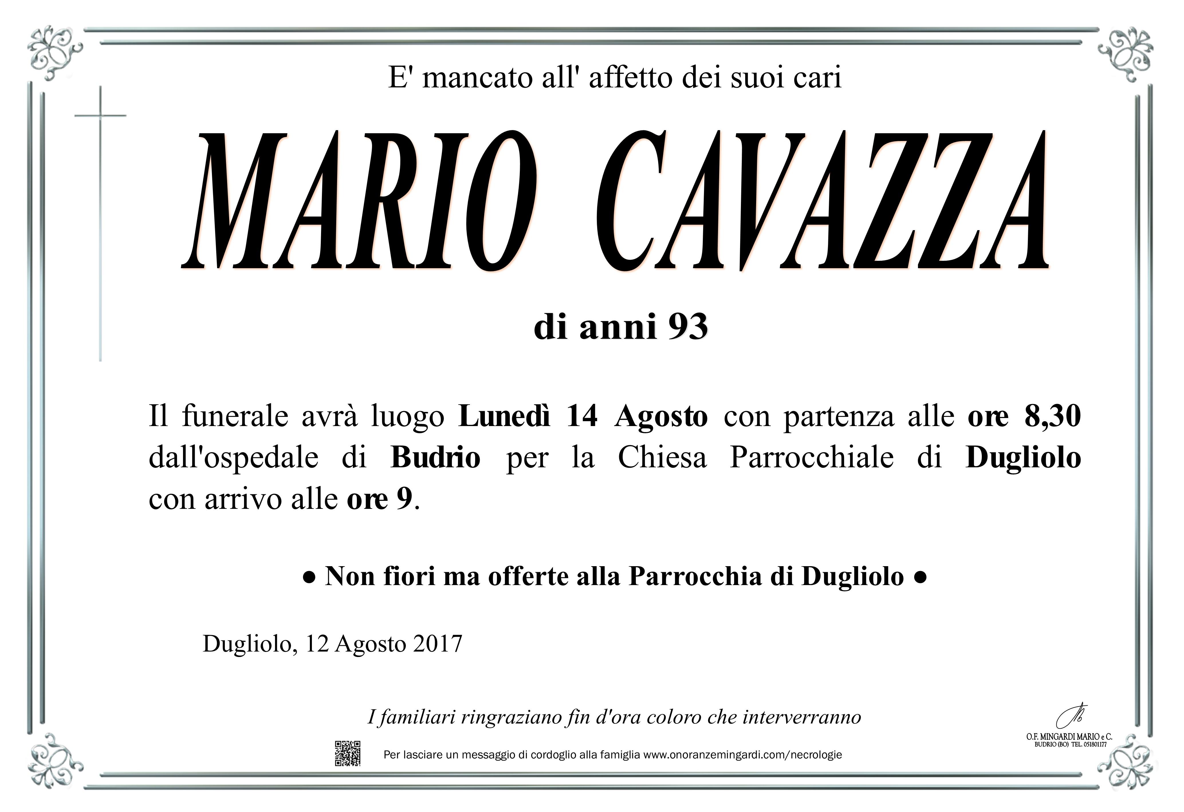 MANIFESTI MARIO CAVAZZA